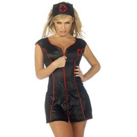 Classified Fetish Nurse Costume Set