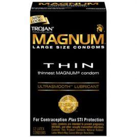 Trojan Magnum Thin Condoms (12 Pack)