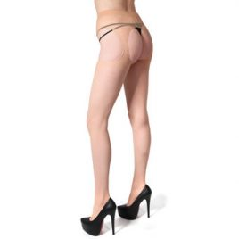 Leg Avenue Sheer All-In-One Suspender Tights