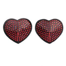 Coquette Rhinestone Heart Nipple Pasties