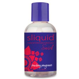 Sliquid Swirl Strawberry Pomegranate Flavored Lubricant 4.2 fl oz