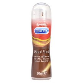 Durex Real Feel Silicone Pleasure Gel Lubricant 50ml