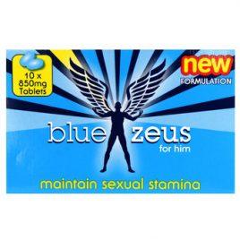 Blue Zeus Pills (10 Capsules)