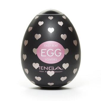 TENGA Egg Lovers Heart Textured Male Masturbator