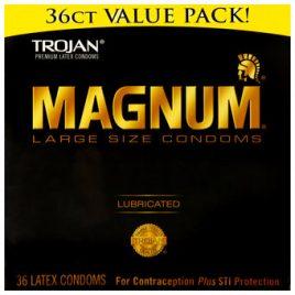 Trojan Magnum Large Condoms (36 Pack)