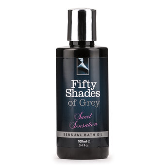 Fifty Shades of Grey Sweet Sensation Sensual Bath Oil 3.4oz
