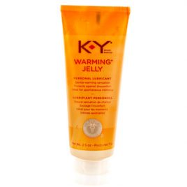 KY Warming Jelly Intimate Lubricant 2.5 fl oz