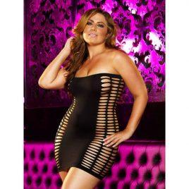 Lapdance Naughty Girl Plus Size Sexy Mini Dress