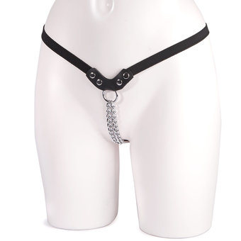 Female Chain G-String with Elasticated Straps