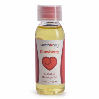 Lovehoney Strawberry Flavor Edible Massage Oil 30ml