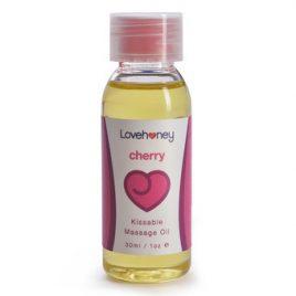 Lovehoney Cherry Flavor Edible Massage Oil 30ml