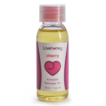Lovehoney Cherry Flavor Edible Massage Oil 30ml