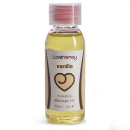 Lovehoney Vanilla Flavor Edible Massage Oil 30ml