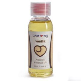 Lovehoney Vanilla Flavor Edible Massage Oil 30ml