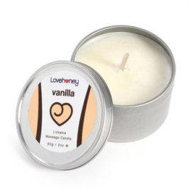 Lovehoney Vanilla Flavor Lickable Massage Candle 60g