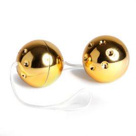 Lovehoney BASICS Gold Jiggle Balls 56g