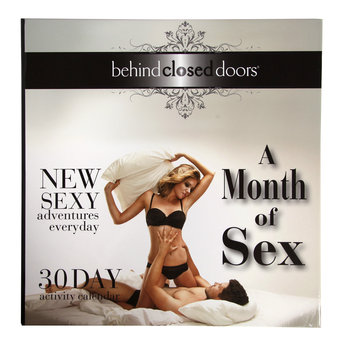 A Month of Sex: 30 Days Activity Calendar