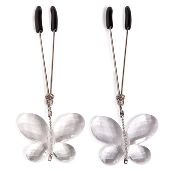 Bad Kitty Butterfly Nipple Clamps