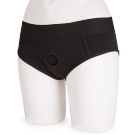 Packer Gear Strap-On Harness Brief with Vibe Pocket