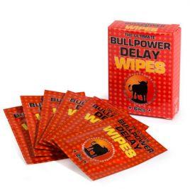 Bull Power Delay Wipes for Men  (6 Pack)