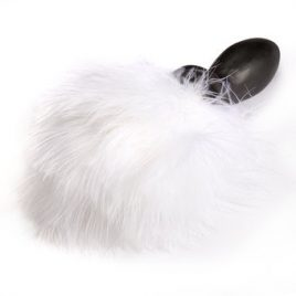Frisky Feather Bunny Tail Anal Plug