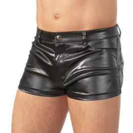 Svenjoyment Wet Look Shorts
