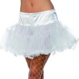 Fever Satin and Mesh Layered Petticoat