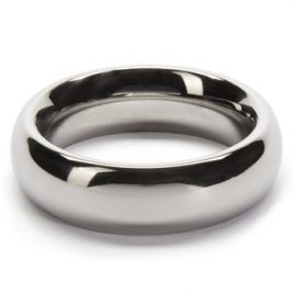 DOMINIX Deluxe 1.9 Inch Stainless Steel Donut Cock Ring