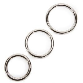 Sportsheets Metal O-Ring Set (3 Pack)
