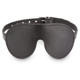 DOMINIX Deluxe Padded Leather Blindfold