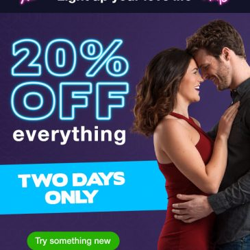 Today's Deal – Get 20% Off Everything Even Sale Items