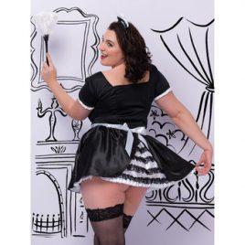 Lovehoney Fantasy Plus Size Voulez-Vous Deluxe French Maid