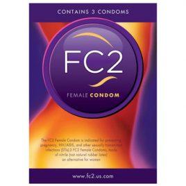 FC2 Female Condoms (3 Count)