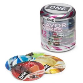 ONE Flavor Waves Condoms (12 Count)
