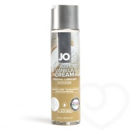 System JO Vanilla Cream Flavored Lubricant 4 fl oz