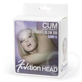 Bob-a-Knob Inflatable Blow Job Head with Suction Cup 241g