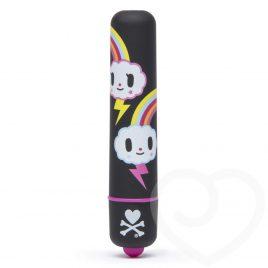 tokidoki x Lovehoney Rainbow Single Speed Mini Bullet Vibrator
