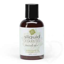 Sliquid Organics Natural Silk Lubricant 4.2 fl. oz