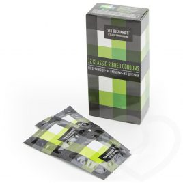 Sir Richard's Classic Ribbed Vegan Condoms (12 Count)