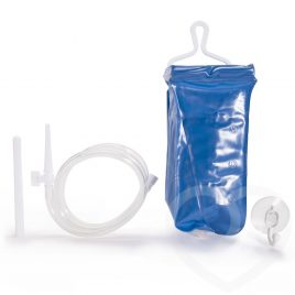 5-Piece Anal Enema Travel Kit 2 Liter