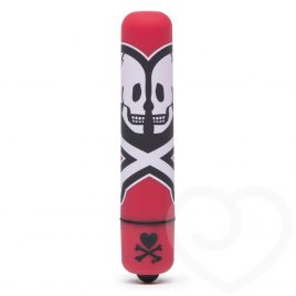 tokidoki x Lovehoney Death Do Us Single Speed Mini Bullet Vibrator