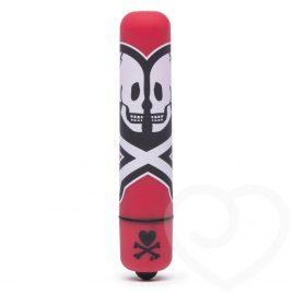 tokidoki x Lovehoney Death Do Us Single Speed Mini Bullet Vibrator