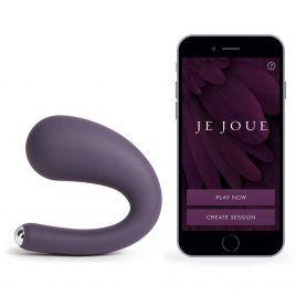 Je Joue Dua Remote Controlled USB Rechargeable G-Spot and Clitoral Vibrator