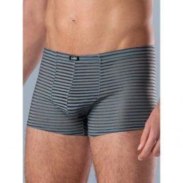 LHM Stripe Grey Mesh Boxer Shorts