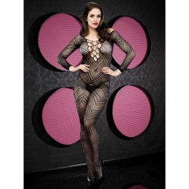 Lapdance Long Sleeve Crotchless Bodystocking