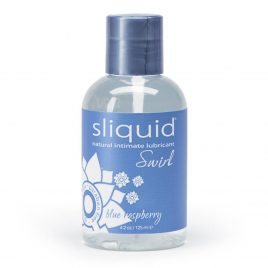 Sliquid Swirl Blue Raspberry Flavored Lubricant 4.2 fl oz