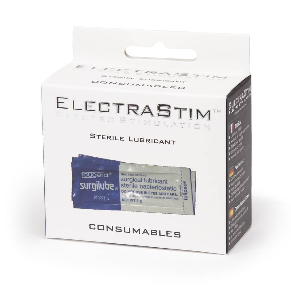 ElectraStim Sterile Lubricant Sachets 0.17 fl oz (10 Pack)
