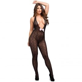 Lovehoney Plunge Front Crotchless Bodystocking