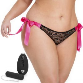 Lovehoney Plus Size Hot Date 10 Function Remote Control Vibrating Panties