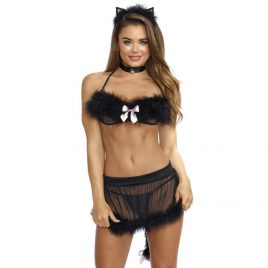 Dreamgirl Sexy Cat Costume (5 Piece)